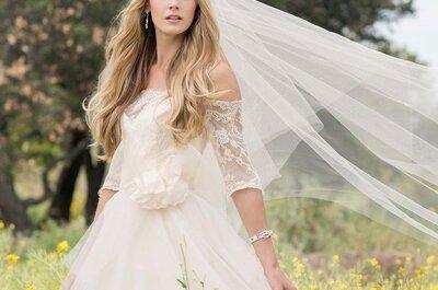 Penteados de noiva com véu 2017: escolha o seu!