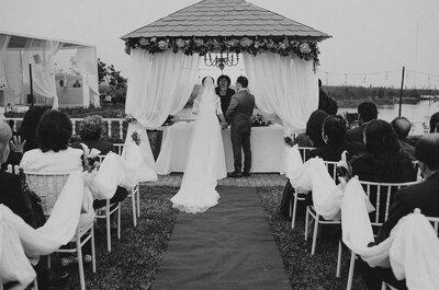 ¿Buscas un lugar para festejar tu boda? ¡Seis factores a tener en cuenta para elegirlo!
