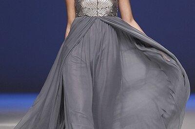 Vestido de noiva cinzento, by Carla Ruiz 2013
