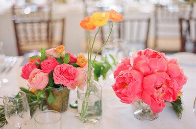 Real Wedding: ¡Increíbles colores en la decoración de esta boda de Lily + Jeremy!