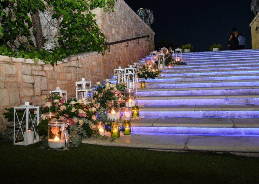 Allestimenti floreali creativi e sobri per le vostre nozze con Edera SRL