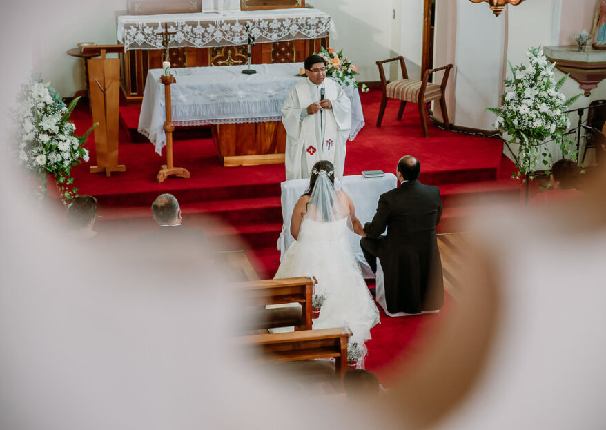 ¿Cómo organizar un matrimonio religioso? ¡Tendrás la boda más emocionante!