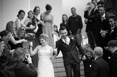 Casamento de Virginia & Jeovani + Miguel: filho do casal invade o altar e emociona a todos!