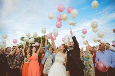 Celebrando os noivos: a grande entrada na Quinta