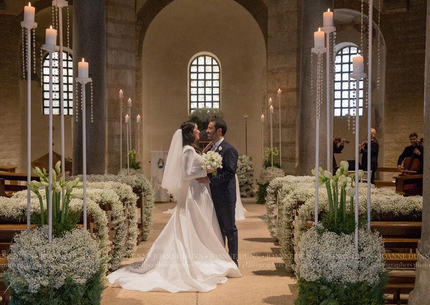 Il Winter Wedding di Daria e Gaetano sapientemente organizzato da Baccarà Eventi...