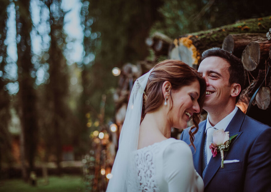Emoción y diversión: la boda de Gisela y Álvaro