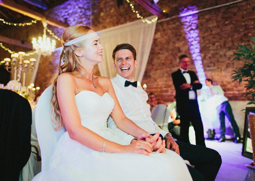 Die 7 besten Hochzeitsspiele: Witzig & unterhaltsam!