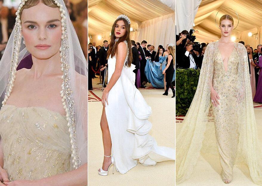 Gala MET 2018: as mais belas inspirações para vestidos de noiva diretamente do tapete vermelho