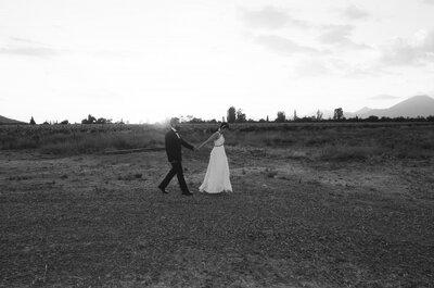 Pía y Aníbal, la boda de una pareja de cómplices