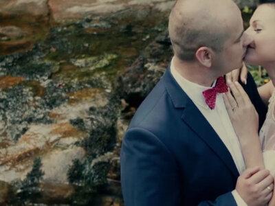 Romantyczne wideo ślubne...