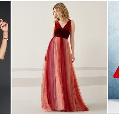 45 Robes De Soiree Rouges Sensuelle Et Elegante Pour Un Mariage