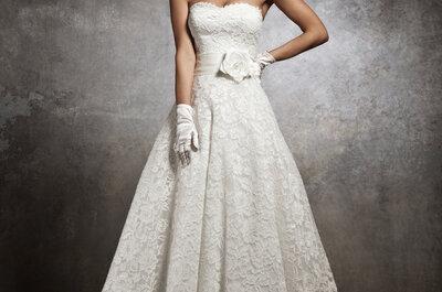 Un viaje en el tiempo con los vestidos de novia