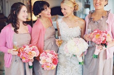 19 de octubre: Una boda en rosa, por el cáncer de mama