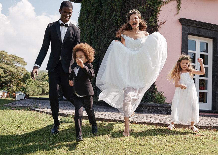 H&M lança nova coleção de casamento que vai deixar muitas noivas e convidadas felizes!