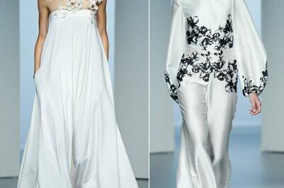 Le spose della Mercedes-Benz Fashion Week di Madrid 2015