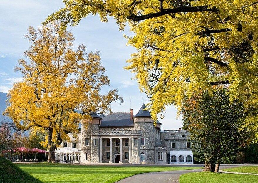 En été comme en hiver, entrez dans l'histoire du Château de Servolex !