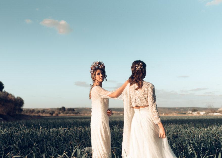A lo 'gipsy style': el editorial de boda más loco