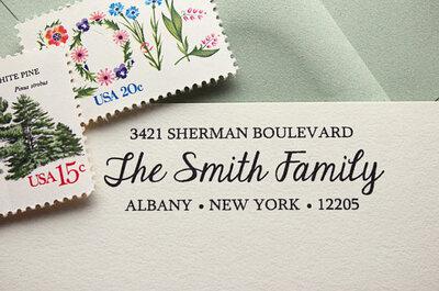 Hochzeitseinladungen von Etsy