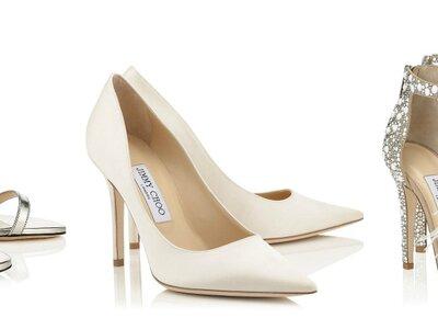 Zapatos de novia Jimmy Choo 2017: Diseños increíbles para una boda de ensueño