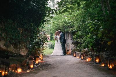 Un lugar con encanto: la mágica boda de Fanny y José