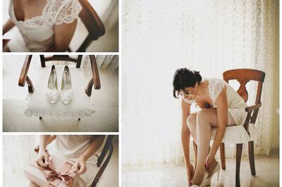 Zapatos para novias: ¡luce tus pies también en tu boda!