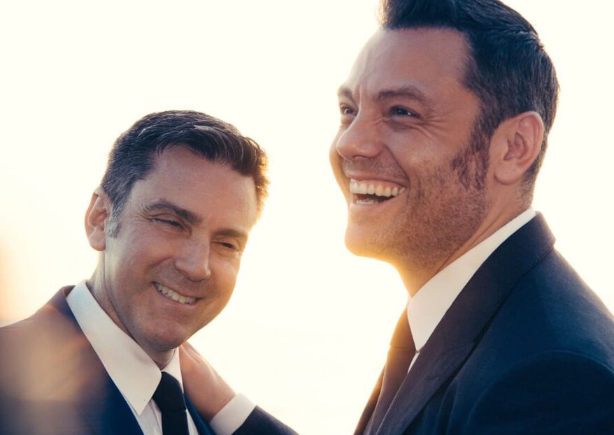 Tiziano Ferro se casa en secreto con su pareja Victor Allen