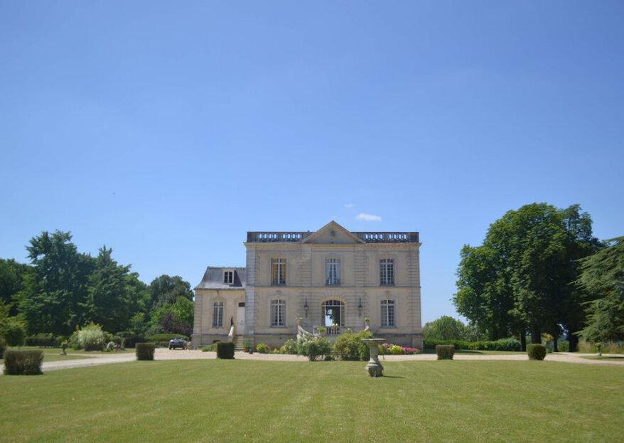 Château Bouret : célébrez votre union en des lieux baignés d'histoire et de prestige