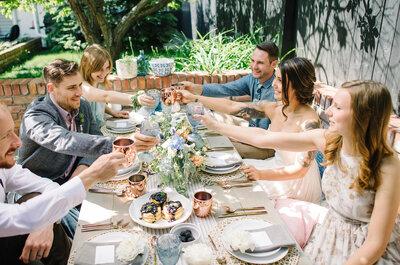 Casamento brunch em 7 passos: surpreenda os seus convidados!