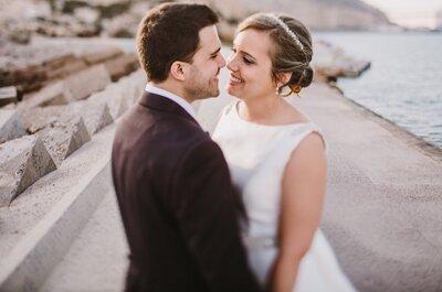 Un paseo, sin duda, para recordar: la boda de Luz y Blas