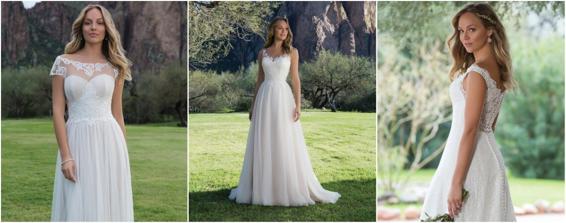 Colección de vestidos de novia Sweetheart 2018: romántica y elegante