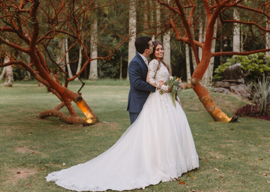 Casamento boho chic de Thaís e Caio: cenário encantador com uma decoração de arrancar suspiros!