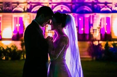 O casamento clássico de Bia & Eduardo: noivos emocionadíssimos e muita elegância!