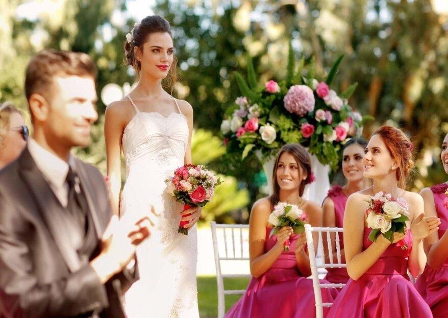 Floricoltura Loi, un laboratorio floreale creativo con esperienza trentennale che organizzerà per voi nozze incantate