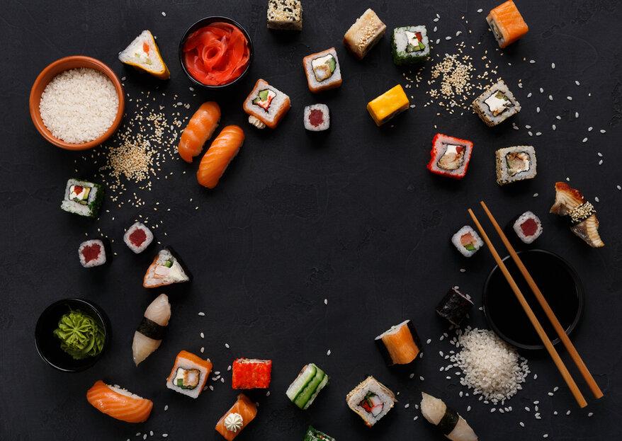 Luna de miel gastronómica: decide el destino de tu viaje de novios según su cocina