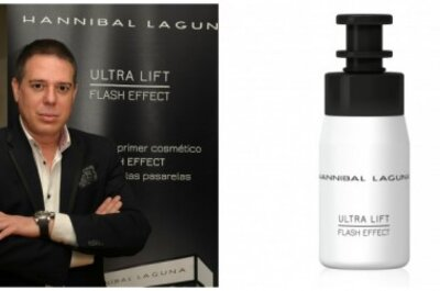Hannibal Laguna presenta Ultra Lift: una ampolla flash para días especiales