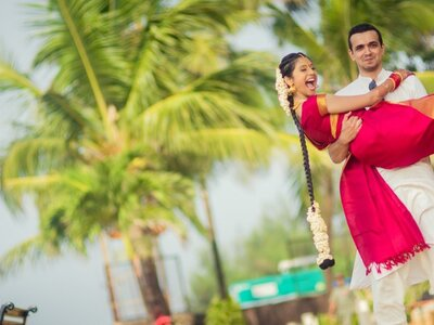 Happening wedding of Saaksha and Karan- the one with the long distance relationship