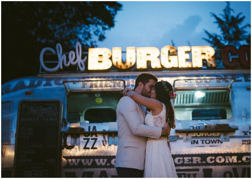 ¿Cuáles son los tipos de boda ideales para usar food trucks? ¡Aquí te contamos!