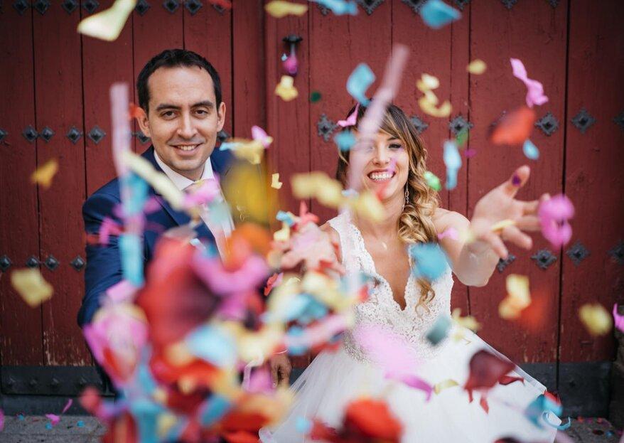 El mejor día de sus vidas: la boda de María Ángeles y Diego