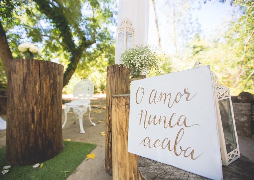 Placas de casamento: as melhores ideias para um casamento divertido! Faça as suas!