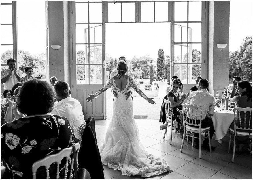 Un mariage mixte et une cérémonie colorée pour Luisa et François !