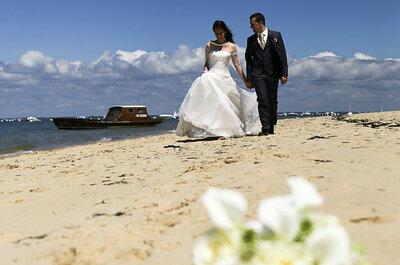 Un joli mariage au cœur des vignobles bordelais pour Christophe et Pauline