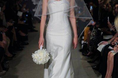 Sehen Sie hier die Carolina Herrera Show 2015 von der New York Bridal Week