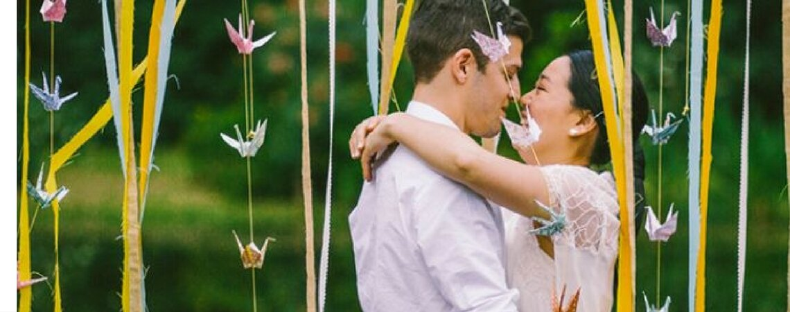 Real Weddings: Martina + Federico's Colorful Vintage Wedding in Buenos Aires