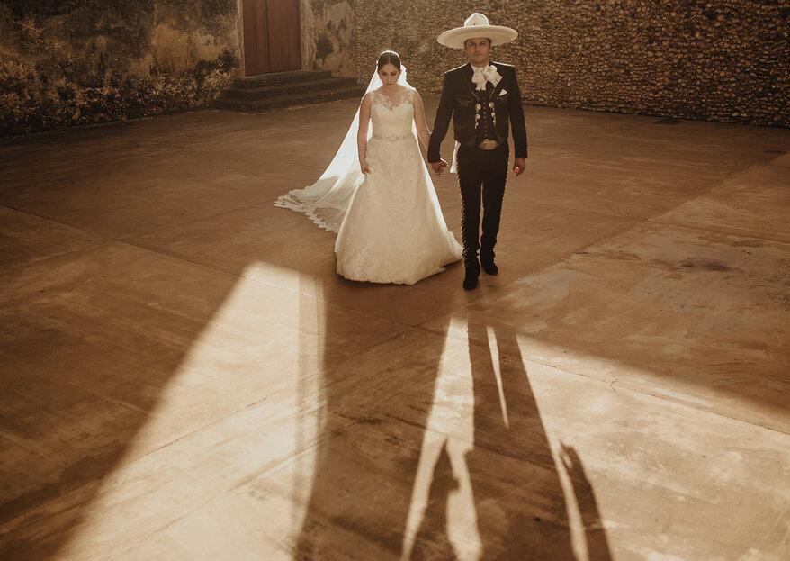 Romance a la mexicana. La boda de Elmy y Rubén en Yucatán