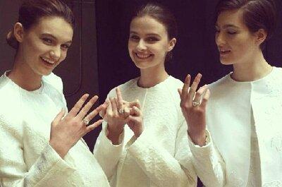 Vestidos de noiva Monique Lhuillier 2014 para românticas e modernas