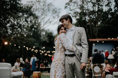Casamento DIY ao ar livre de Vanessa & Vitor: festa em estilo toscano em Minas Gerais!