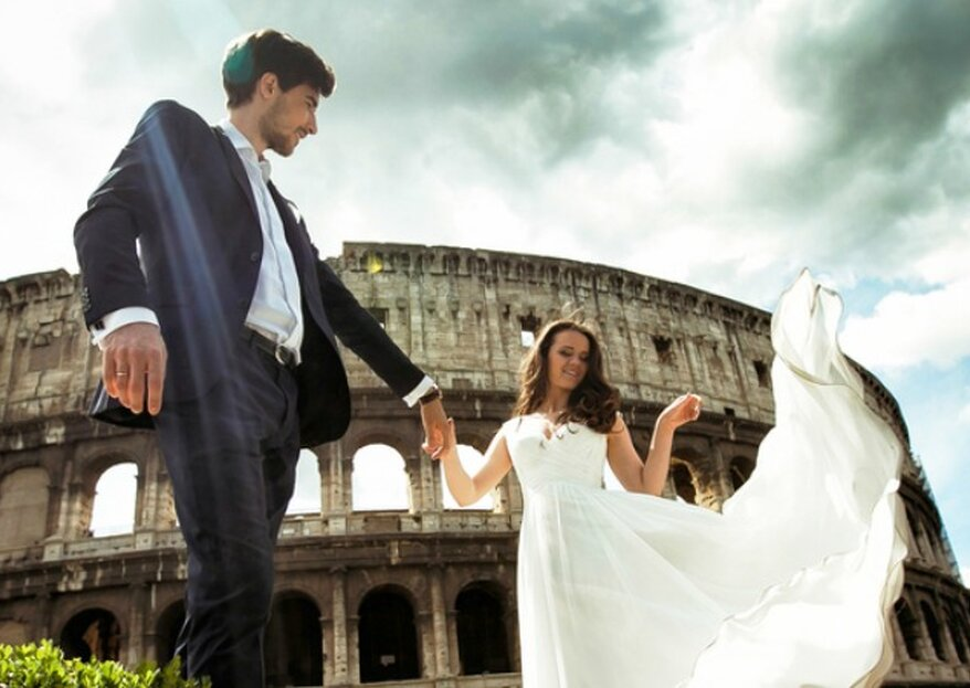 The Most Beautiful Venues For Your Destination Wedding in Rome