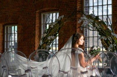 Распущенные или собранные волосы: какой тип прически выбрать для свадьбы?