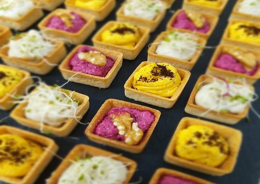 Gustoso, innovativo e salutare: il tuo catering nuziale curato da Debrilla Delicious Moment