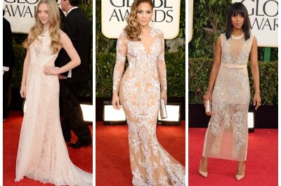The Golden Globes: Wedding Gown Inspiration Galore (PHOTOS)